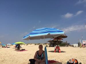 Dopiero leżąc na plaży w pełni potrafię docenić co znaczy para sol...